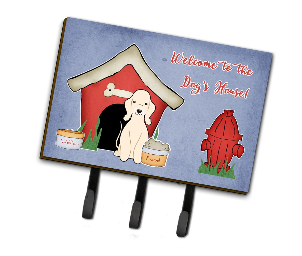 Buy this Dog House Collection Bedlington Terrier Sandy Leash or Key Holder