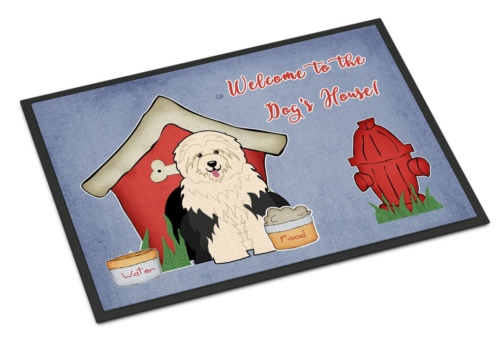 Buy this Dog House Collection Old English Sheepdog Indoor or Outdoor Mat 18x27 BB2850MAT
