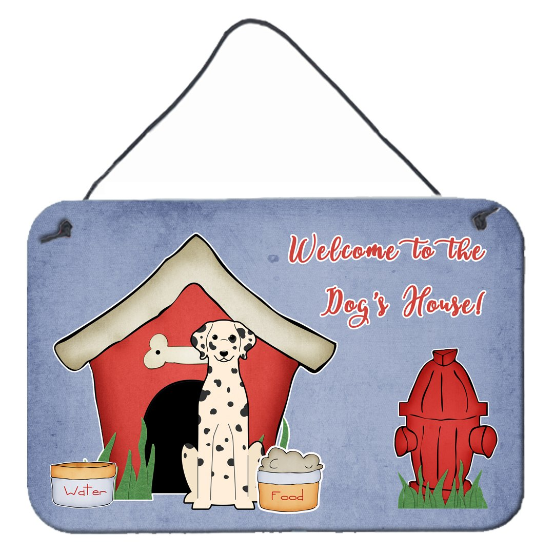 Dog House Collection Dalmatian Wall or Door Hanging Prints by Caroline's Treasures