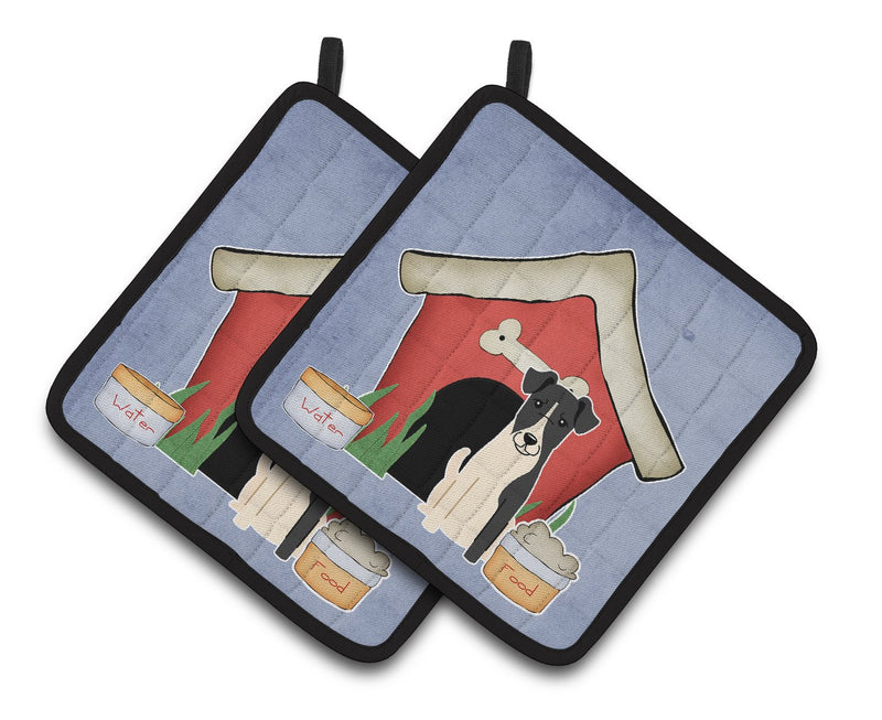 Buy this Dog House Collection Smooth Fox Terrier Pair of Pot Holders