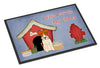 Dog House Collection Wire Fox Terrier Indoor or Outdoor Mat 24x36 BB2855JMAT - the-store.com