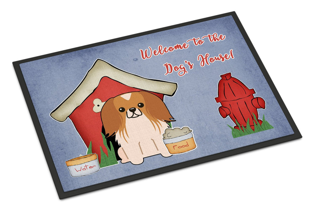 Buy this Dog House Collection Pekingnese Red White Indoor or Outdoor Mat 24x36 BB2857JMAT