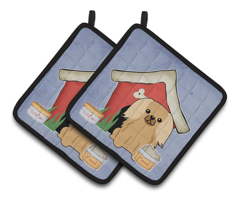 Buy this Dog House Collection Pekingnese Fawn Sable Pair of Pot Holders