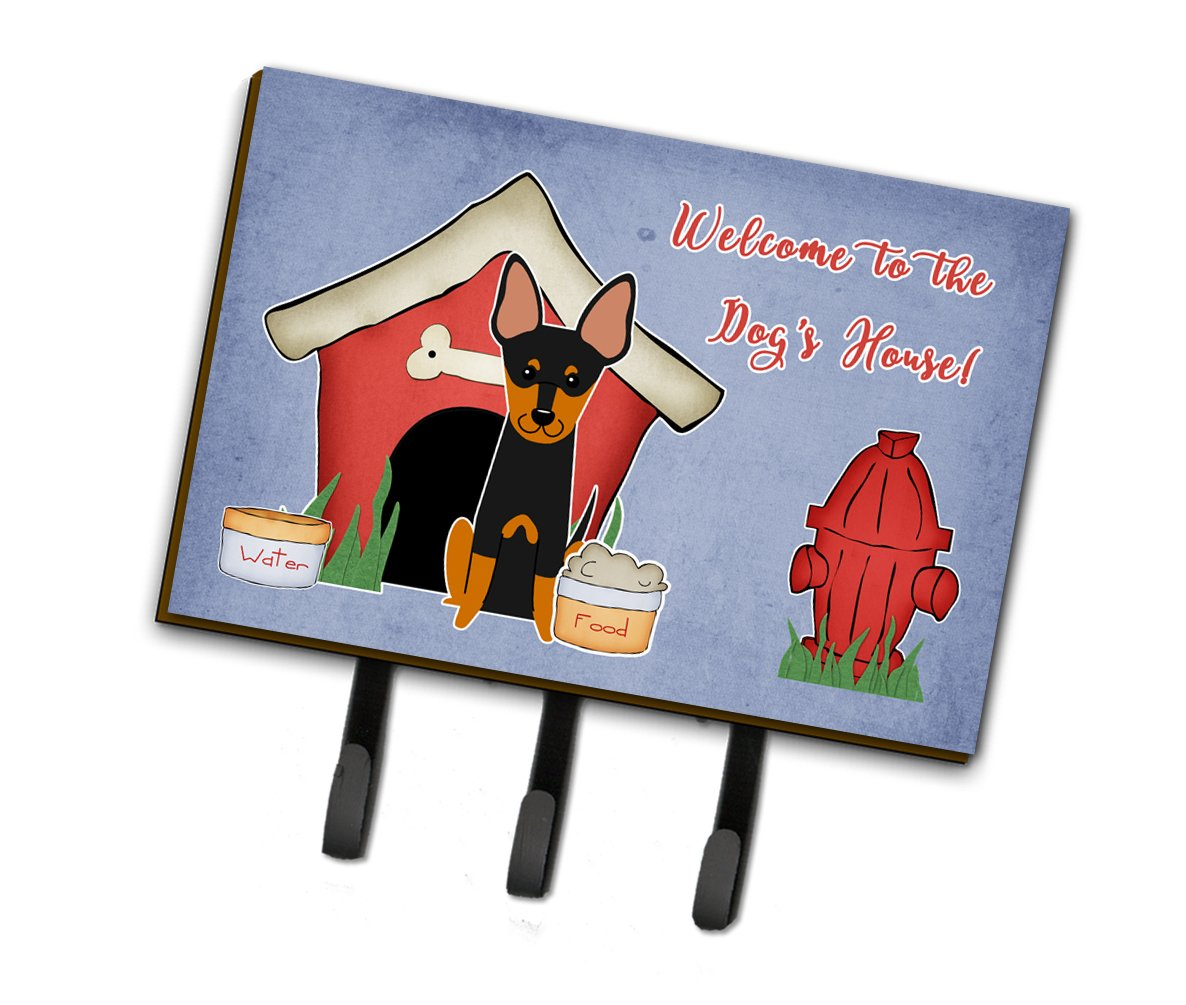Dog House Collection English Toy Terrier Leash or Key Holder by Caroline's Treasures