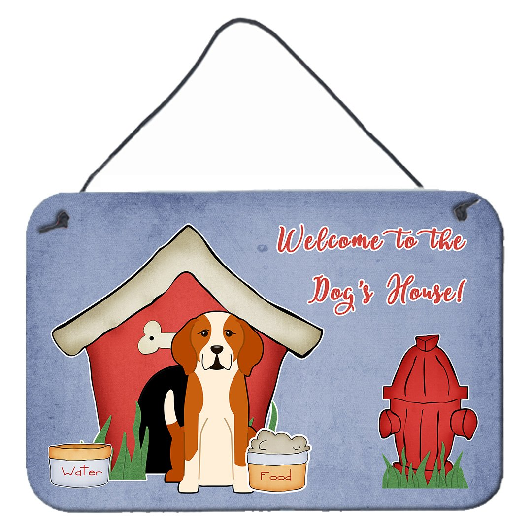Dog House Collection English Foxhound Wall or Door Hanging Prints BB2864DS812 by Caroline's Treasures