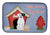 Buy this Dog House Collection White Boxer Cooper Dish Drying Mat BB2868DDM