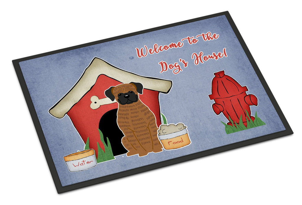 Buy this Dog House Collection Brindle Boxer Indoor or Outdoor Mat 18x27 BB2871MAT