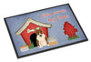Dog House Collection Bull Terrier Brindle Indoor or Outdoor Mat 24x36 BB2891JMAT - the-store.com