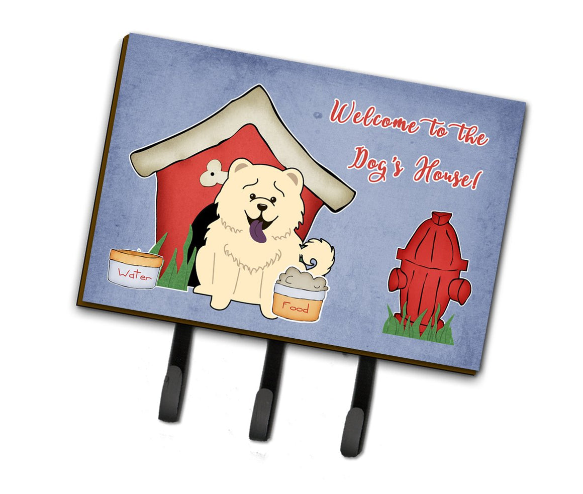 Buy this Dog House Collection Chow Chow White Leash or Key Holder