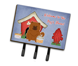 Buy this Dog House Collection Chow Chow Red Leash or Key Holder