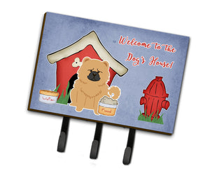Buy this Dog House Collection Chow Chow Cream Leash or Key Holder