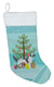 English Setter Merry Christmas Tree Christmas Stocking BB2899CS by Caroline's Treasures
