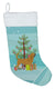 Bloodhound Merry Christmas Tree Christmas Stocking BB2902CS by Caroline's Treasures