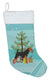 Welsh Terrier Merry Christmas Tree Christmas Stocking BB2903CS by Caroline's Treasures