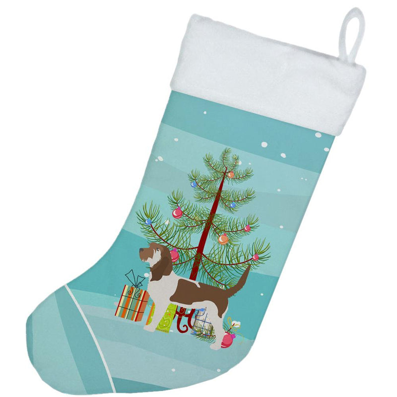 Grand Basset Griffon Vendeen Merry Christmas Tree Christmas Stocking BB2908CS by Caroline's Treasures