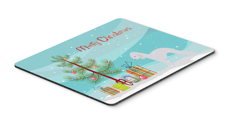 "Buy this ""Bedlington Terrier Merry Christmas Tree Mouse Pad, Hot Pad or Trivet"""