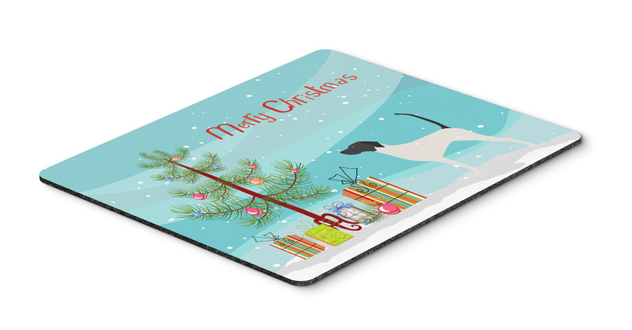 Buy this English Pointer Merry Christmas Tree Mouse Pad, Hot Pad or Trivet