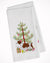 Buy this Welsh Springer Spaniel Merry Christmas Tree White Kitchen Towel Set of 2 BB2918WTKT