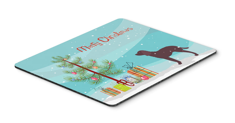 Buy this American Water Spaniel Merry Christmas Tree Mouse Pad, Hot Pad or Trivet BB2919MP