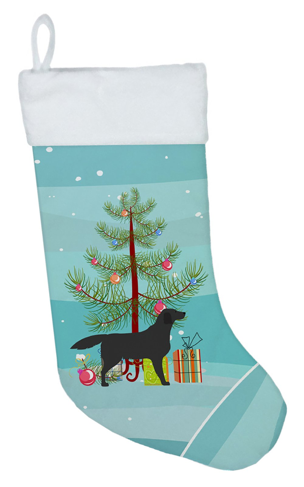 Buy this Black Labrador Retriever Merry Christmas Tree Christmas Stocking BB2926CS