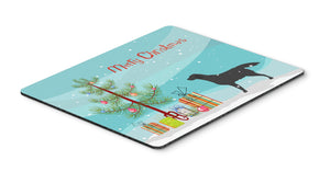 "Buy this ""Black Labrador Retriever Merry Christmas Tree Mouse Pad, Hot Pad or Trivet"""