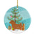 Buy this Norfolk Terrier Merry Christmas Tree Ceramic Ornament BB2927CO1