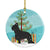 Buy this Briard Merry Christmas Tree Ceramic Ornament BB2944CO1