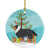 Buy this Sheltie/Shetland Sheepdog Merry Christmas Tree Ceramic Ornament BB2948CO1