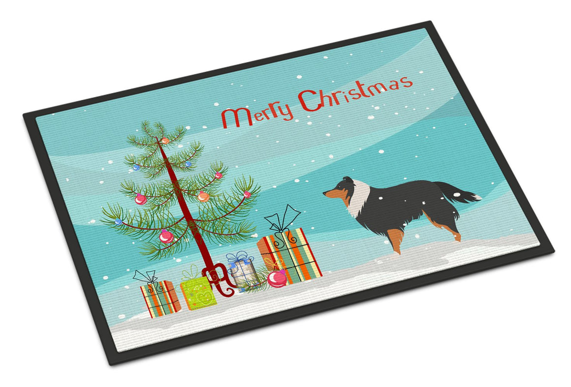 Buy this Sheltie/Shetland Sheepdog Christmas Indoor or Outdoor Mat 24x36 BB2948JMAT