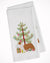 Buy this Australian Shepherd Dog Merry Christmas Tree White Kitchen Towel Set of 2 BB2951WTKT