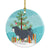 Buy this Lowchen Merry Christmas Tree Ceramic Ornament BB2953CO1