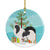 Japanese Chin Merry Christmas Tree Ceramic Ornament BB2955CO1 by Caroline's Treasures