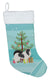 Japanese Chin Merry Christmas Tree Christmas Stocking BB2955CS by Caroline's Treasures