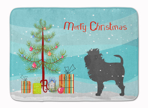 Buy this Affenpinscher Merry Christmas Tree Machine Washable Memory Foam Mat BB2966RUG