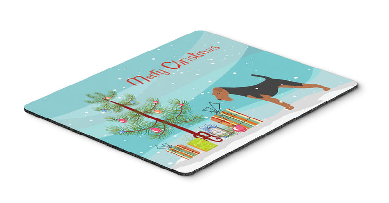 "Buy this ""Airedale Terrier Merry Christmas Tree Mouse Pad, Hot Pad or Trivet"""