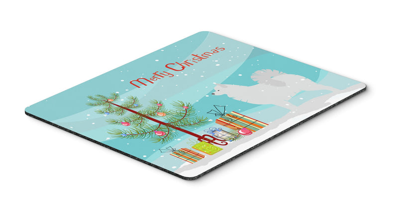 Buy this Samoyed Merry Christmas Tree Mouse Pad, Hot Pad or Trivet BB2977MP