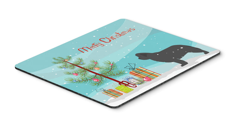 "Buy this ""Newfoundland Merry Christmas Tree Mouse Pad, Hot Pad or Trivet"""