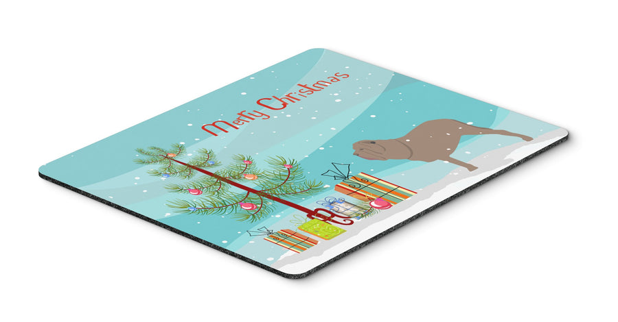Buy this Neapolitan Mastiff Merry Christmas Tree Mouse Pad, Hot Pad or Trivet BB2983MP