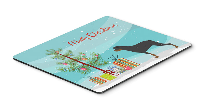 "Buy this ""Rottweiler Merry Christmas Tree Mouse Pad, Hot Pad or Trivet"""