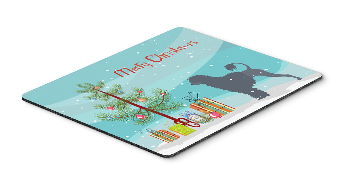 "Buy this ""Portuguese Water Dog Merry Christmas Tree Mouse Pad, Hot Pad or Trivet"""