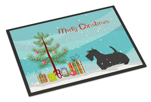 Buy this Scottish Terrier Merry Christmas Tree Indoor or Outdoor Mat 24x36 BB2987JMAT