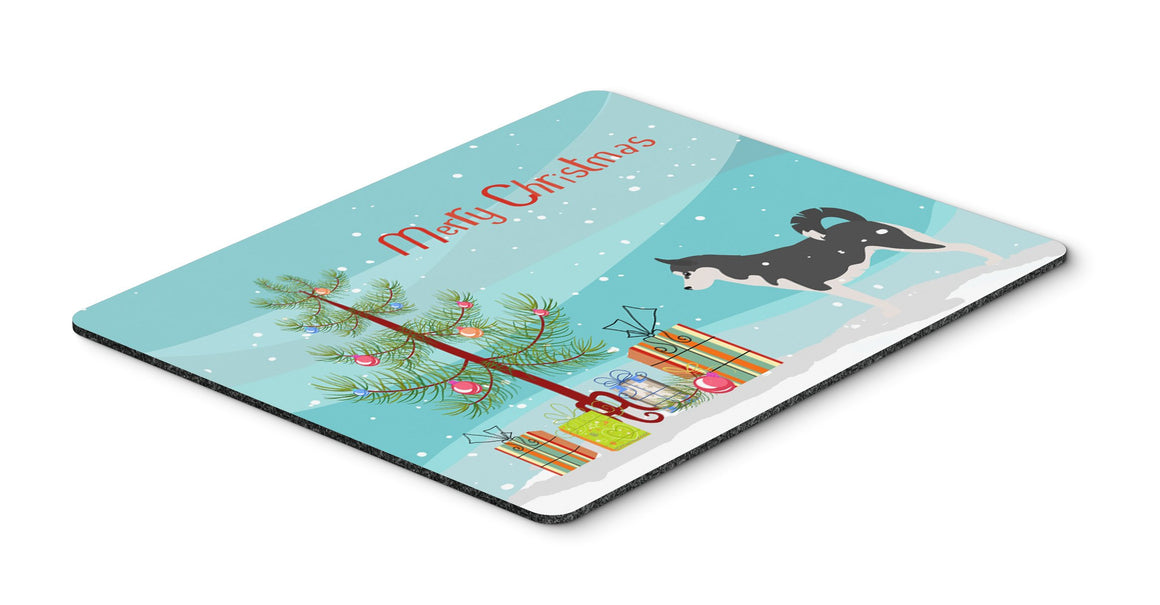 "Buy this ""Siberian Husky Merry Christmas Tree Mouse Pad, Hot Pad or Trivet"""