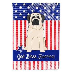 Buy this Patriotic USA Mastiff White Flag Garden Size
