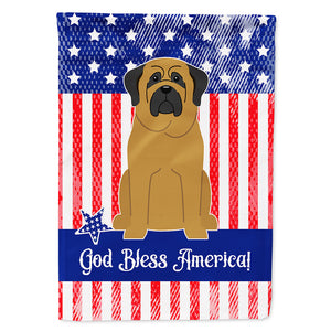 Buy this Patriotic USA Mastiff Flag Canvas House Size BB3013CHF