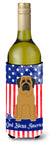 Buy this Patriotic USA Mastiff Wine Bottle Beverge Insulator Hugger