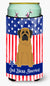 Buy this Patriotic USA Mastiff Tall Boy Beverage Insulator Hugger