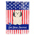 Buy this Patriotic USALowchen Flag Garden Size