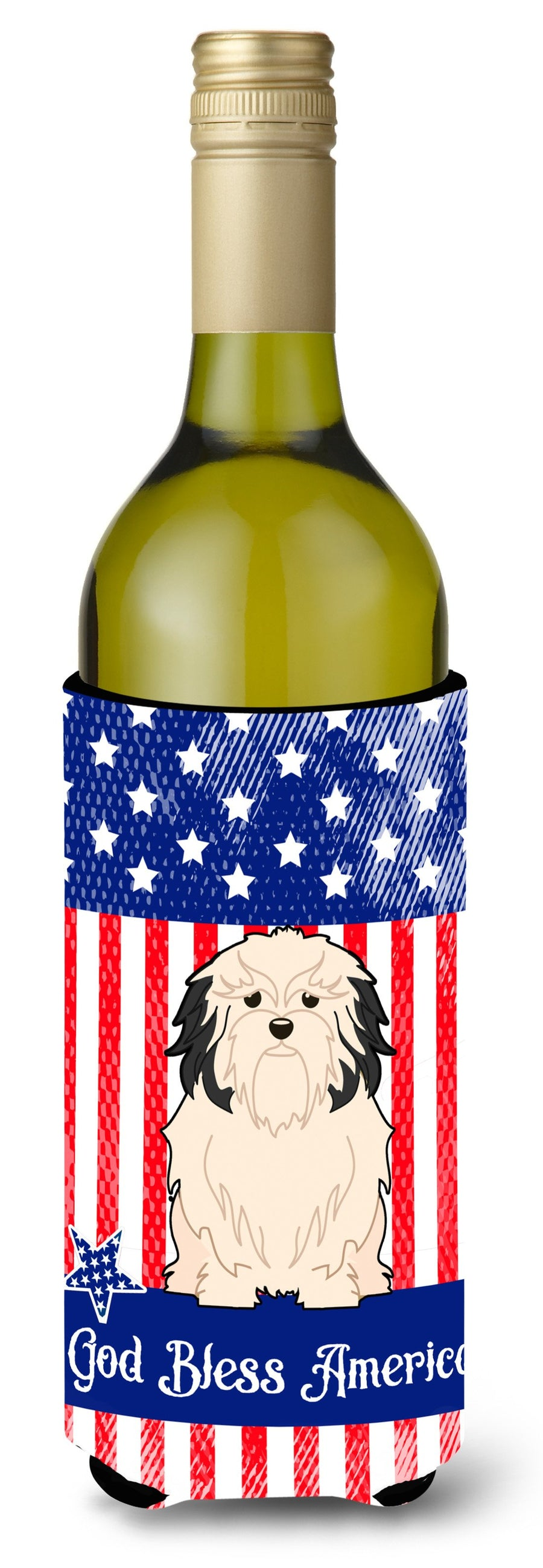Buy this Patriotic USALowchen Wine Bottle Beverge Insulator Hugger
