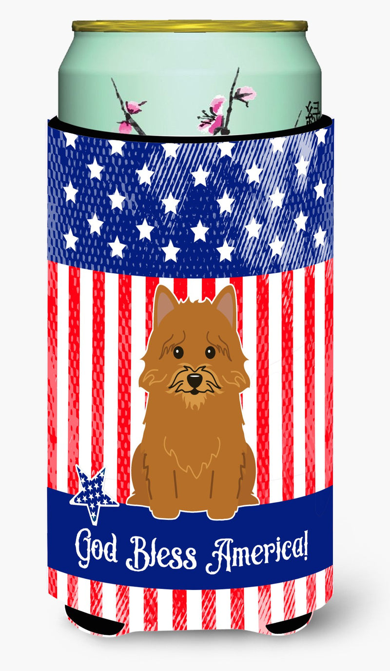 Buy this Patriotic USA Norwich Terrier Tall Boy Beverage Insulator Hugger