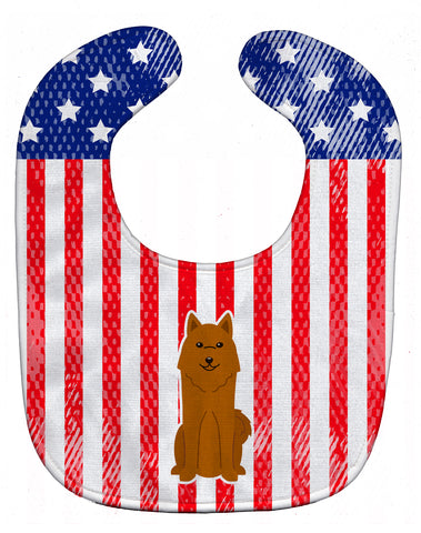 Buy this Patriotic USA Karelian Bear Dog Baby Bib BB3017BIB